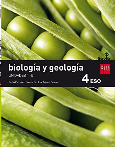 Biología y geología. 4 ESO. Savia. Trimestres  - Pack de 3 libros - 9788467587050
