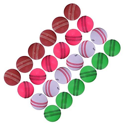 Kosma Windball Cricketbälle, 24 Stück, weiche Trainingsbälle