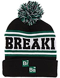 Breaking Bad Logo Cuff Knit Pom Beanie Hat