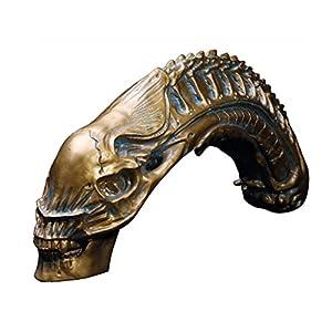 Depredador Vs Alien Modelo De Resina Cráneo Fósil AVP Figura Estatua De Juguete De Colección 2