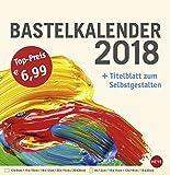 Bastelkalender groß champagner - Kalender 2018