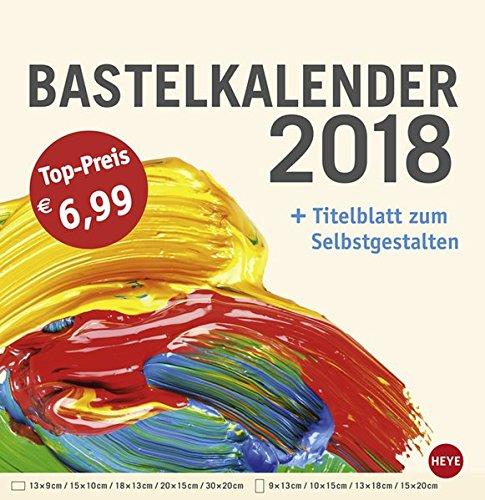 Produktbild Bastelkalender groß champagner - Kalender 2018