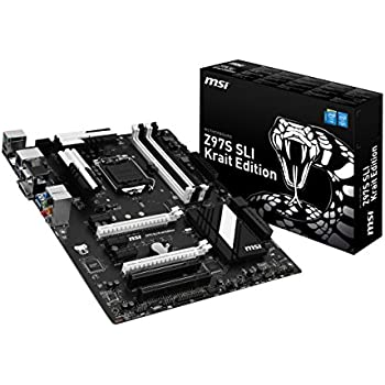 MSI Z97S SLI Krait Edition Carte mère Intel ATX Socket 4xD3 3200 OC USB 3.0 SATA 3