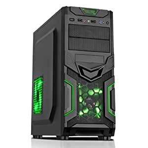 OCHW PILEDRIVER FX-4300 4.0GHZ QUAD CORE GAMING COMPUTER, HOME, OFFICE, MULTIMEDIA, PC, ATI RADEON HD 3000 HDMI GRAPHICS CARD, 8GB DDR3 RAM, 1000GB HARD DRIVE, GIGABYTE 78LMT-USB3 MOTHERBOARD, NO OPERATING SOFTWARE