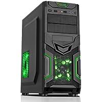 Fierce Haswell Quad Core Custom Gaming PC - i7 4790, GTX 750 Ti 2GB, 16GB of 1600MHz Performance DDR3 Memory, 1TB SATA3 Hard Drive - Home, Office, School, College, University - 212043
