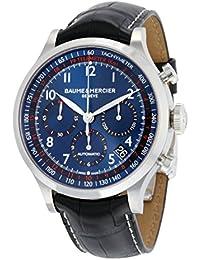 Baume & Mercier Capeland Reloj de hombre automático 44mm correa de cuero 10065