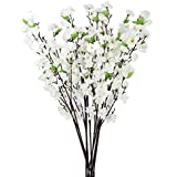 Hyperboles Plastic Artificial Blossom Bunch, 9 Sticks, 45cm(Multicolour)