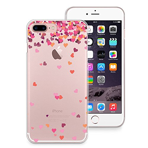 iPhone 7Fall, casesbylorraine Cute Muster Case Kunststoff Hard Cover für Apple iPhone 7, A66, iPhone 7 Plus Soft Case A17