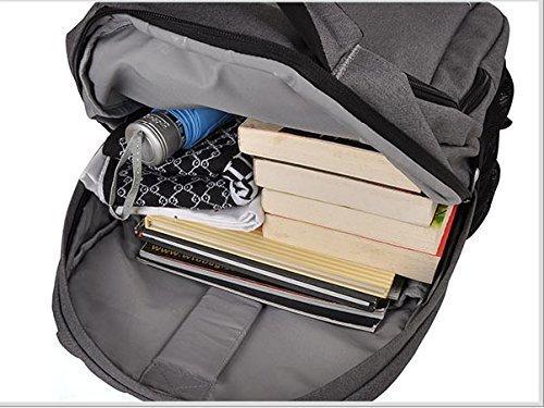 YAAGLE Rucksack Lovers Schüler Schultasche 15,6 zoll Gepäck Laptoptasche Business Taschen Schultertasche schick Reisetasche-orange orange