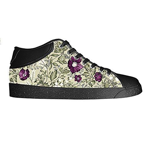 Dalliy Floral Flower Men s Canvas Shoes Scarpe Lace Up High Top Sneakers a vela panno scarpe Scarpe di tela sneakers d Comprar Barato Realmente 2018 Nueva Aclaramiento De Baja Tarifa De Envío Muy En Línea Estilo De Moda RRG1CA6Z