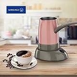Fornello elettrico Korkmaz caffê stand-by A 365-14 al caffè Espresso rosa Pembe