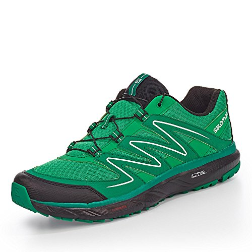 Salomon L38143400, Scarpe da camminata uomo (gr/gr/evergreen)