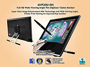 Yiynova MVP20U+RH Full HD Tablet Monitor, DVII Digital Input, SMVA Panel (Mac & Windows)
