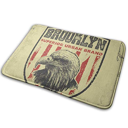 QuGujun aquis Towel USA Eagle Head Bath Mat Non Slip Absorbent Super Cozy Velvet Bathroom Rug Carpet Bath Rugs