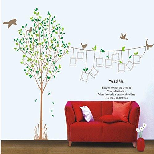 BB.er Wall Sticker Memorial Baum Foto Wand Wohnzimmer Schlafzimmer abnehmbare Wasserdichte dekorative Aufkleber