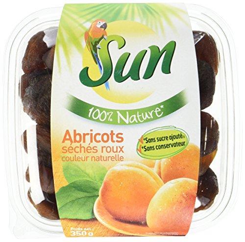 SUN Abricots 100% Nature 350 g - Lot de 2