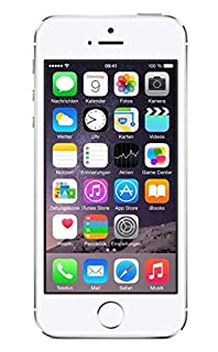 Apple iPhone 5S Smartphone (10,2 cm (4 Zoll) Display, 64GB Speicher, iOS 7) Silber (B00F8JH70O) | Amazon price tracker / tracking, Amazon price history charts, Amazon price watches, Amazon price drop alerts