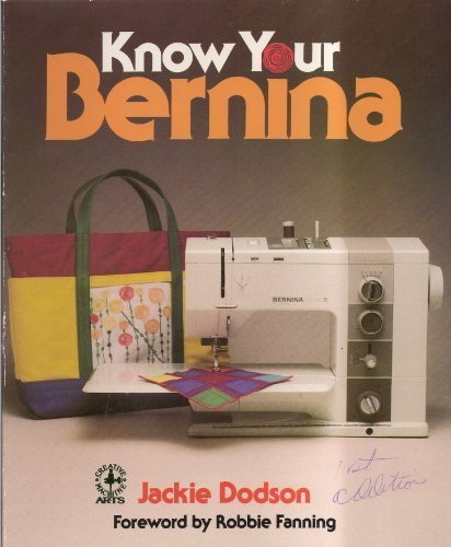 Title: Know your Bernina Creative machine arts series