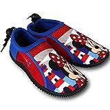 Wasserschuhe Kinder Disney Motiv- und Größenauswahl - Kinder Aquaschuhe - Badeschuhe - Strandschuhe - Surfschuhe (34, Minnie Mouse)