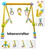 alles-meine.de GmbH Gymnastikcenter - Höhenverstellbar -  Eule & Ente  - aus Holz - von Geburt n..