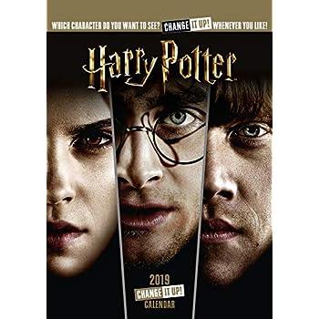 Harry Potter Official 2019 Calendar - A3 Change It Up Wall Calendar Format