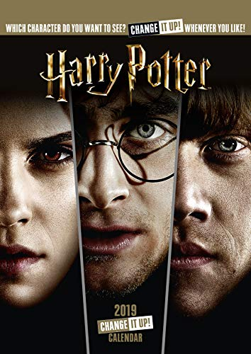 Harry Potter Official 2019 Calendar - A3 Change It Up Wall Calendar Format