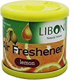 #5: Liboni Natural Aroma Car Perfumes Fresh Lemon Air Fresheners for Car