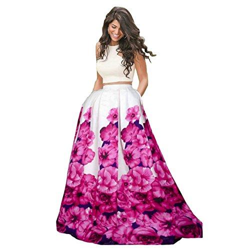 Riyan Enterprise Women's Benglori Satin Silk Semi-Stitched Lehenga Choli( ,White Pink,Free Size)