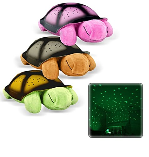 CONNECTWIDE® Turtle Shaped Twilight Night Light With USB - Small (1 pcs.) Assorted color  available at amazon for Rs.699