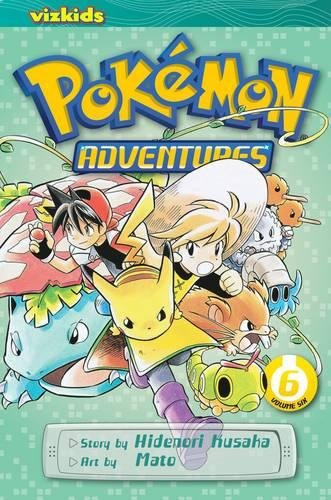 POKEMON ADVENTURES GN VOL 06 RED BLUE por Hidenori Kusaka