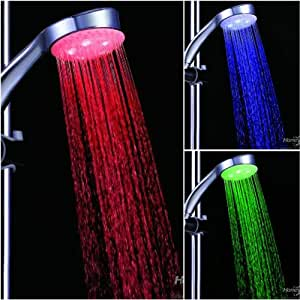 shower led lighting. kawachi 7 color changing led shower head automatic abs plastic colors led lighting