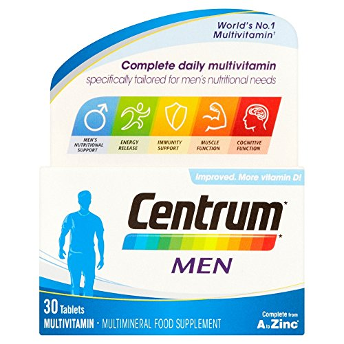 Centrum Multivitamin Men Tablets - Pack Of 30 -