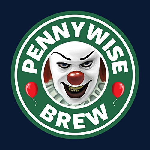 Pennywise Brew Coffee Design IT Women's T-Shirt Navy blue