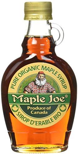 Maple Joe Pur Sirop d'Erable du Canada Biologique Bouteille 250 g - Lot de 2
