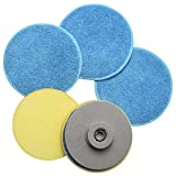 Homitt Juego de accesorios para cepillo de limpieza de esponja