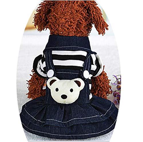 YAMEIJIA Hund Kleider Hundekleidung Prinzessin Schwarz/Rot Baumwolle Kostüm Für Haustiere Damen Klassisch/Geburtstag / - Urlaub Hunde Kostüm