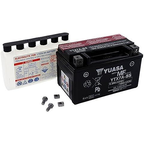 Battery YUASA - YTX7A-BS maintenance-free