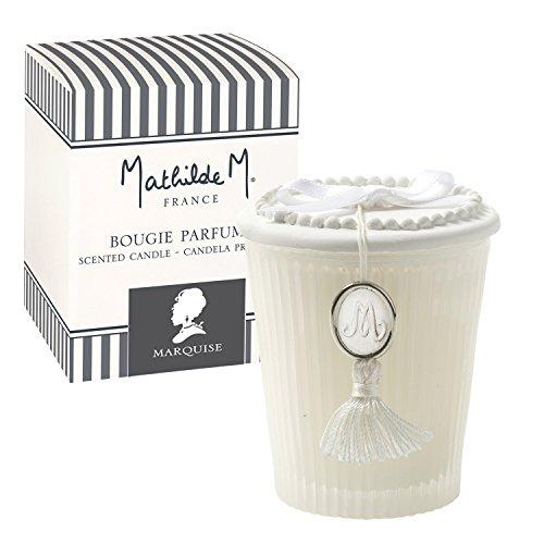 Mathilde M Coffret : Bougie parfumée Les Intemporels senteur Marquise - Parfum de France