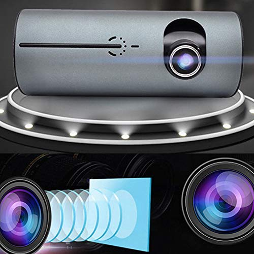 QSBY La Pantalla Oculta del Auto Dash Dash HD de 2.7 Pulgadas...