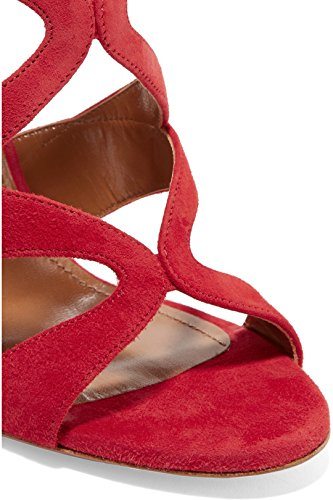 TDA - Peep-Toe donna Red