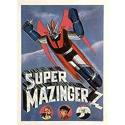 Poster Super Mazinger Z Movie Masterprint (27,94 x 43,18 cm)