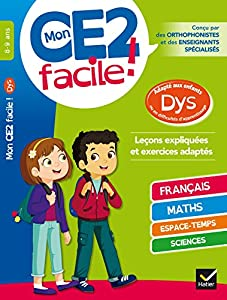 """Afficher """"Mon CE2 facile ! 8-9 ans"""""""
