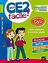Mon CE2 facile ! adapté aux enfants DYS et en difficultés d'apprentissage par Barge