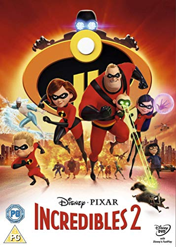 Incredibles 2 [DVD] [2018]