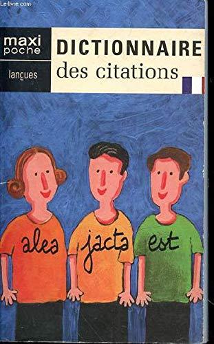 Dictionnaire des citations par Collectif