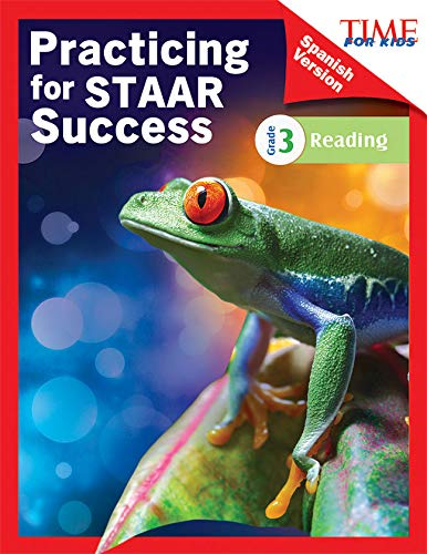 TIME FOR KIDS Practicing for STAAR Success: Reading: Grade 3 (Spanish Version) (Classroom Resources) por Shell Education