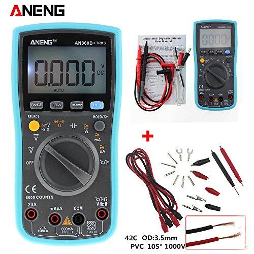 LCD 6000Counts Digital Multimeter HHMD mit NCV Detektor DC/AC Spannung und Line Current Meter Kombination