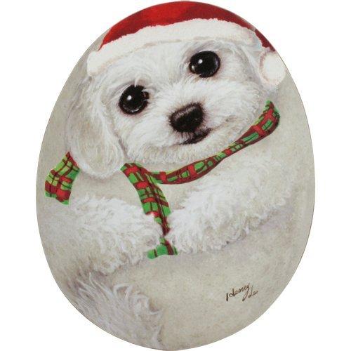 Henry Katzen & Altersgruppe Momo-X 'MAS geformte Untersetzer (Hund)-Weihnachten