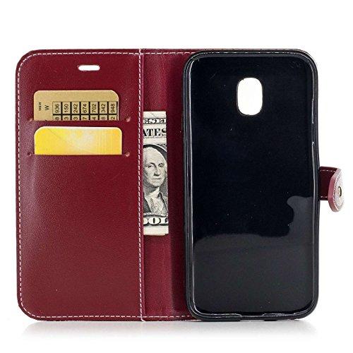 """iPhone X 4,7"""" Hülle,iPhone X Ledertasche,TOYYM Luxus Krokodilmuster PU Leder Bookstyle Flip Cover Klapphülle Wallet Brieftasche mit Kartensteckplätzen und Ständer,Folio Full Body Protection Schutzhüll Farbe 6"""