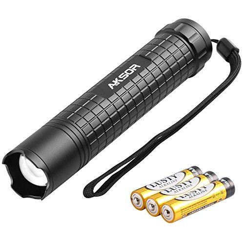 aksor-led-taschenlampe-super-hell-cree-led-400lm-pocket-taschenlampe-taschenlampe-mit-einstellbarer-